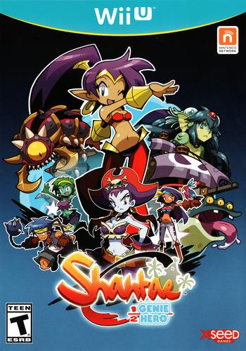 Shantae Half-Genie Hero WiiU coverM (AHFEWY)