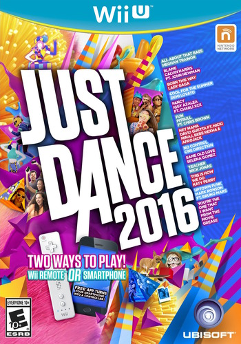 Just Dance 2016 WiiU coverM (AJ6E41)