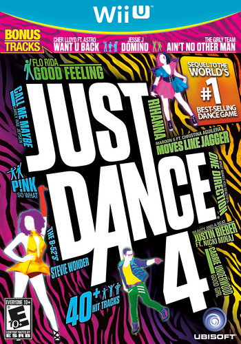 Just Dance 4 WiiU coverM (AJDE41)