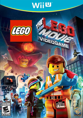 The LEGO Movie Videogame WiiU coverM (ALAEWR)
