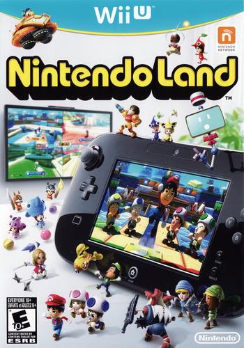 Nintendo Land WiiU coverM (ALCE01)