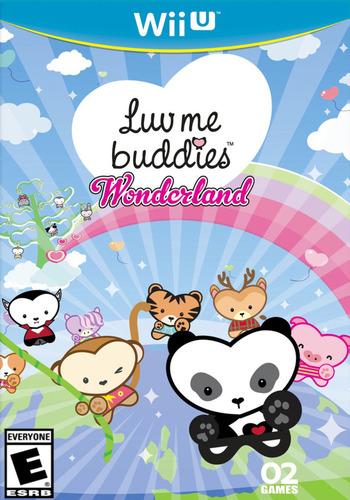 Luv Me Buddies Wonderland WiiU coverM (ALVE)