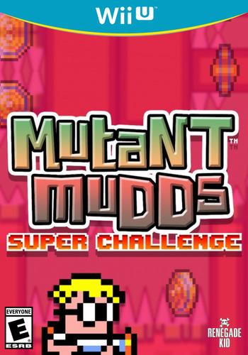 Mutant Mudds Super Challenge WiiU coverM (AMUE)
