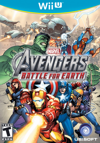 Marvel Avengers: Battle for Earth WiiU coverM (AMVE41)