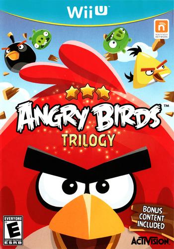 Angry Birds Trilogy WiiU coverM (ANRE52)