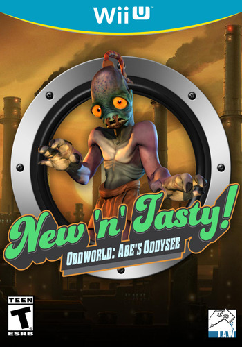 Oddworld: New 'n' Tasty Array coverM (ANWE)
