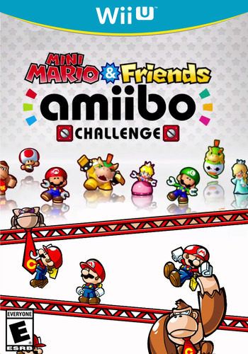 Mini Mario & Friends: amiibo Challenge WiiU coverM (AP5E)