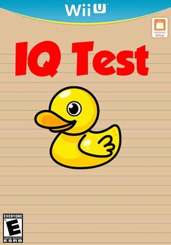 IQ Test WiiU coverM (AQTE)