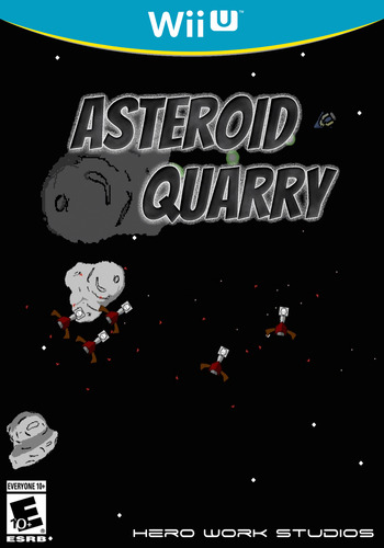 Asteroid Quarry WiiU coverM (AQYE)