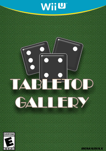TABLETOP GALLERY WiiU coverM (AR2E)