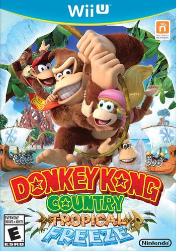 Donkey Kong Country: Tropical Freeze WiiU coverM (ARKE01)