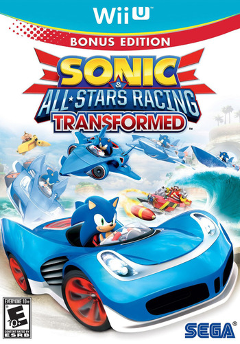 Sonic & All-Stars Racing Transformed WiiU coverM (AS2E8P)