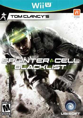 Tom Clancy's Splinter Cell Blacklist WiiU coverM (AS9E41)