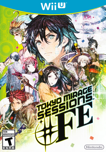 Tokyo Mirage Sessions #FE WiiU coverM (ASEE01)