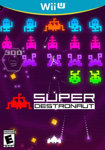 Super Destronaut WiiU coverM (ASJE)