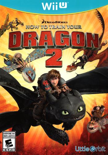 How to Train Your Dragon 2 WiiU coverM (ATDEVZ)