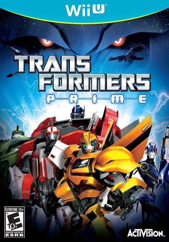 Transformers: Prime WiiU coverM (ATRE52)