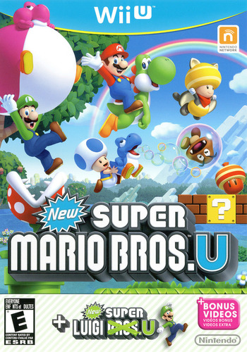 New Super Mario Bros. U + New Super Luigi U WiiU coverM (ATWE01)