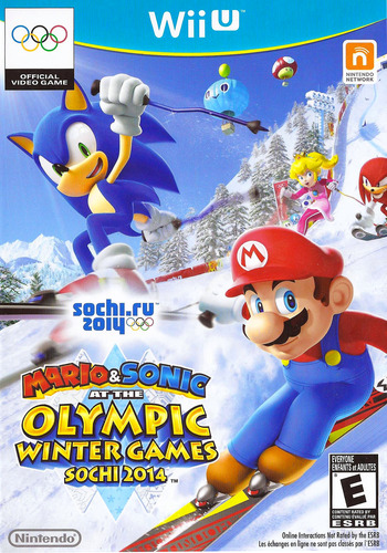 Mario & Sonic at the Sochi 2014 Olympic Winter Games WiiU coverM (AURE01)