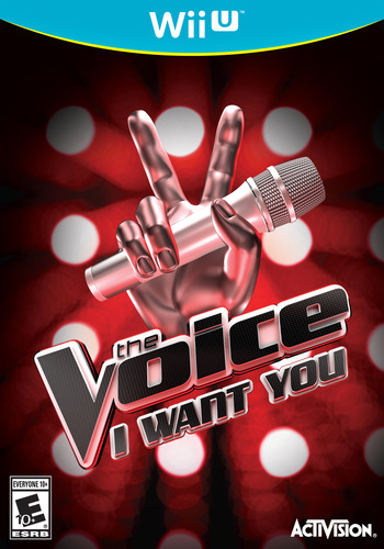 The Voice: I Want You WiiU coverM (AVCE52)