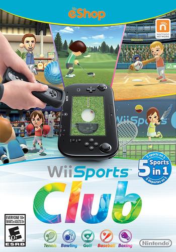 Wii Sports Club WiiU coverM (AWSE)