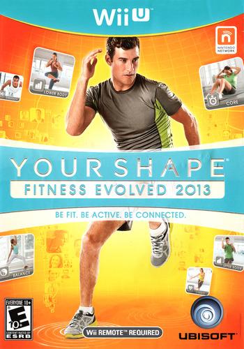 Your Shape: Fitness Evolved 2013 WiiU coverM (AYSE41)
