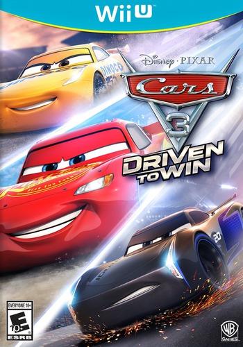 Cars 3: Driven to Win WiiU coverM (BA4EWR)
