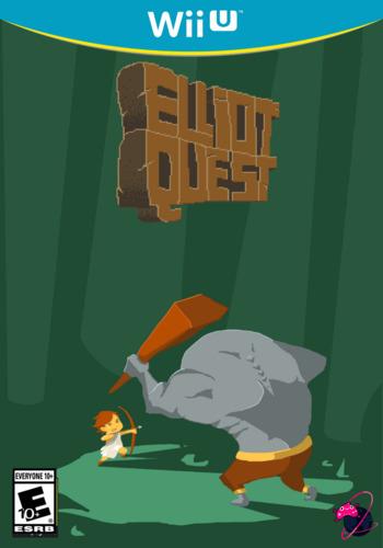 Elliot Quest WiiU coverM (BEQE)