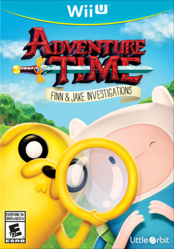 Adventure Time: Finn & Jake Investigations WiiU coverM (BFNEVZ)