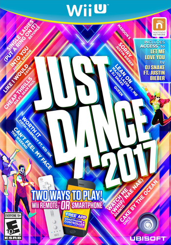 Just Dance 2017 WiiU coverM (BJ7E41)