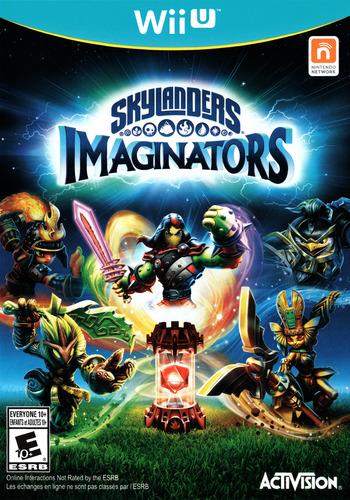 Skylanders Imaginators WiiU coverM (BL6E52)