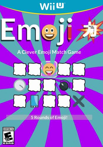 Emojikara: A Clever Emoji Match Game WiiU coverM (BMKE)