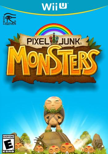 PIXELJUNK MONSTERS WiiU coverM (BPHE)