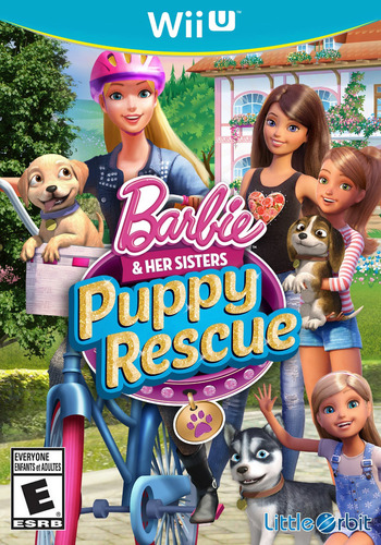 Barbie and Her Sisters: Puppy Rescue WiiU coverM (BRQEVZ)