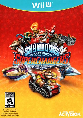 Skylanders: SuperChargers WiiU coverM (BS5E52)