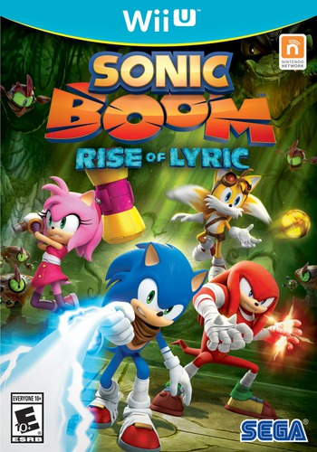 Sonic Boom: Rise of Lyric WiiU coverM (BSSE8P)