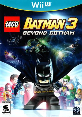 LEGO Batman 3: Beyond Gotham WiiU coverM (BTMEWR)