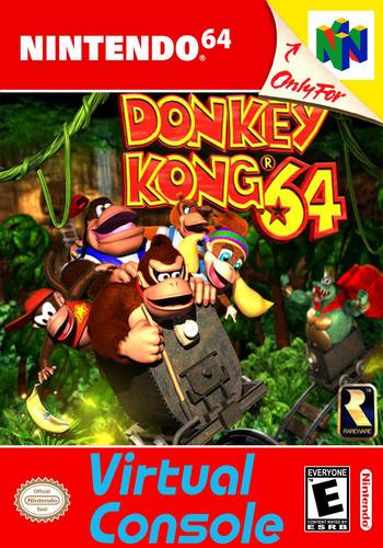 Donkey Kong 64 WiiU coverM (NAAE)