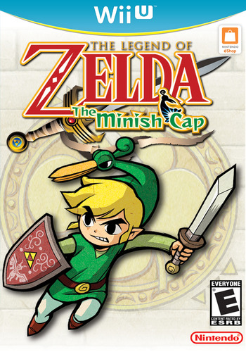 The Legend of Zelda: The Minish Cap WiiU coverM (PAKE)