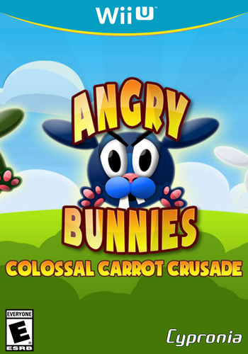 Angry Bunnies: Colossal Carrot Crusade WiiU coverM (WBEE)