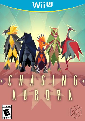 Chasing Aurora WiiU coverM (WCAE)