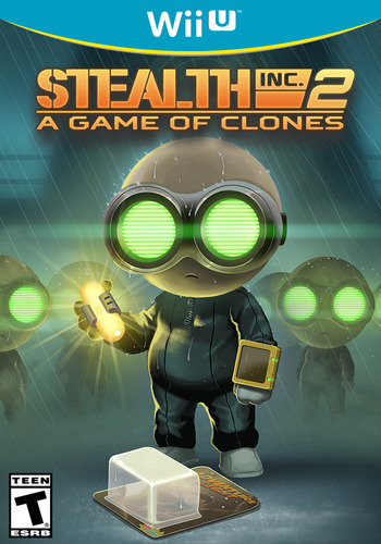 Stealth Inc 2: A Game of Clones WiiU coverM (WCGE)