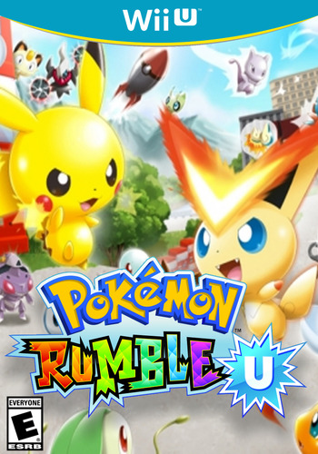 Pokémon Rumble U WiiU coverM (WCNE)