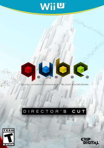 Q.U.B.E: Director's Cut WiiU coverM (WDCE)