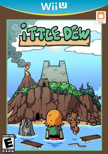 Ittle Dew WiiU coverM (WDWE)