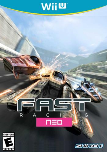 Fast Racing NEO WiiU coverM (WFSE)