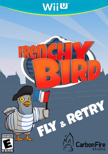 Frenchy Bird WiiU coverM (WFUE)