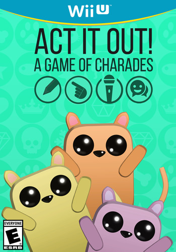 ACT IT OUT! A Game of Charades WiiU coverM (WGQE)