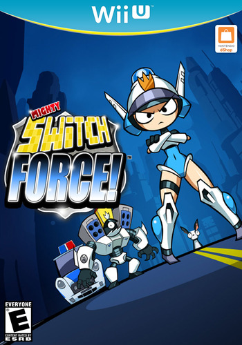 Mighty Switch Force! Hyper Drive Edition WiiU coverM (WHYE)