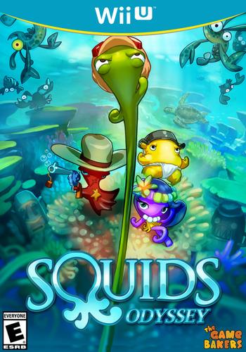 Squids Odyssey WiiU coverM (WJCE)